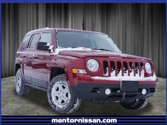 2016 Jeep Patriot Sport Power Value Group Deep Cherry Red Crystal Pearlcoat Dark Slate Gray 4 Cyl 2 40 L 6 Speed Automatic 4wd