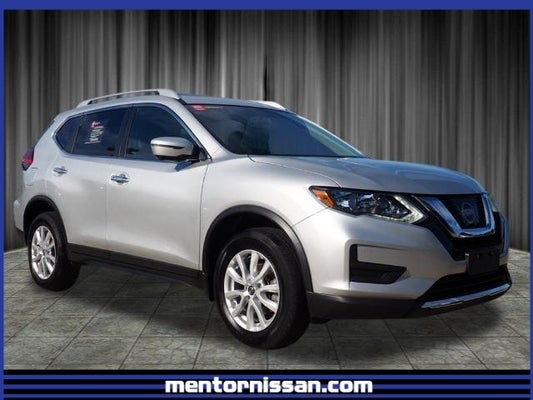 2017 Nissan Rogue Sv Sun And Sound Premium Pkg Brilliant Silver Charcoal 4 Cyl 2 50 L Cvt With Xtronic Awd