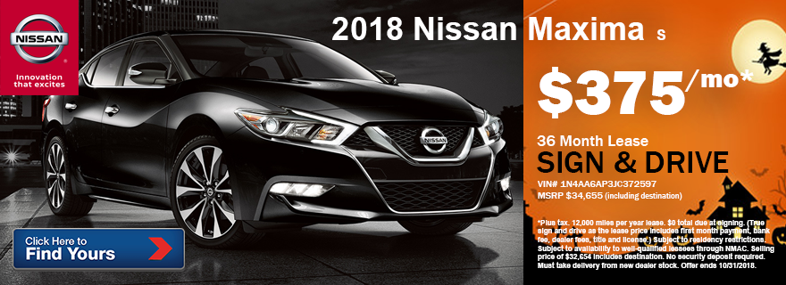 Awesome 2018 Nissan Maxima S
